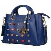 New Eva Women Blue Messenger Bag