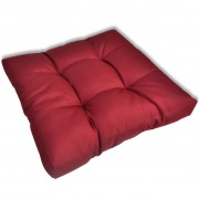 vidaXL Upholstered Seat Cushion 60 x 10 cm Wine Red