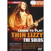 Roadrock International Lick Library: Learn To Play Thin Lizzy - The Solos DVD