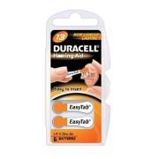 Baterii auditive zinc-aer Duracell DA 13