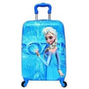 TOURTIER Korean version Square Shape 18 Inch large capacity Water Resistance 360 A^ Rotating Exclusive Printed Pattern Fashionable Smart School Bag For Kids Small Travel Bag - Medium(Blue)