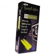 """Snaplights, 6""""l X 3/4""""w, Blue, 10/pack"""