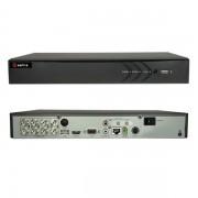 DVR 16 CAN. IBRIDO 5 IN 1 TURBO HD 720P A 25FPS ALLARMI HTVR31-VISHTVR3116A