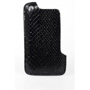 Rick Owens Cover per Iphone in Pelle di Pitone taglia Unica