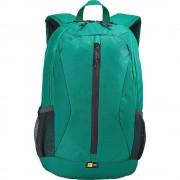Case Logic Ibira Backpack - стилна и качествена раница за MacBook Pro 15 и лаптопи до 15.6 инча (зелен)