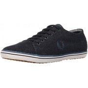 Fred Perry Men s Kingston Tweed Fashion Sneaker Navy/Midnight Blue 8 F(M) UK / 9 D(M) US