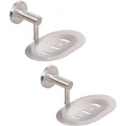 Doyours 2 Pieces Glossy Soap Dish