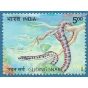 Nature India Snakes , Thematic Gliding Snake, Rs 5