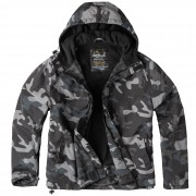 SURPLUS | Bunda WINDBREAKER ZIPPER BLACK CAMO vel.XXL