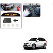 Auto Addict Car White Reverse Parking Sensor With LED Display For Maruti Suzuki Grand Vitara
