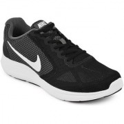 Nike Men'S Revolution 3 Black Running Shoes