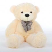 2 Feet Peach Teddy Bear with a Bow
