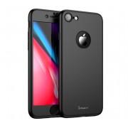 Husa iPaky 360 folie sticla iPhone 7 Black