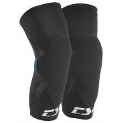 TSG Dermis A Sleeve Knee Guards : black - Size: LXL