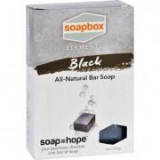 SoapBox Bar Soap - Elements - Detox - Black - 5 oz