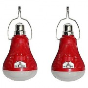 Maharsh ONLITE L81 Rechargeable 25 Watt LED Light AC/DC (Color May Vary) Set of 2