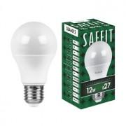 Лампа светодиодная Saffit SBA6012 A60 12W E27 4000K 55008