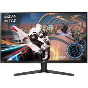 "Monitor Gaming VA LED LG 31.5"" 32GK850F-B, QHD (2560 x 1440), HDMI, DisplayPort, Pivot, 144 Hz, 5 ms (Negru)"