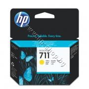 Мастило HP 711, Yellow (29 ml), p/n CZ132A - Оригинален HP консуматив - касета с мастило
