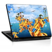 Sticker Laptop - Water World - 4