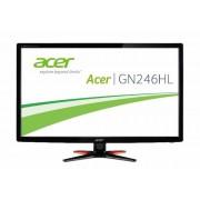 "Monitor Acer 24"", GN246HLBbid, 1920x1080 mat, LCD LED, TN, 3D, 1ms, 170/160º, VGA, HDMI, DVI-D, crna, 24mj, (UM.FG6EE.B06)"
