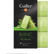 Galler Chocolade Tablet Wit Matcha Thee - 10 x 80 gram