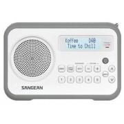 Hordozható Digitális rádióvevő fehér-szürke DPR-67 WG DAB+ FM-RDS