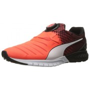 PUMA Men s Ignite Dual Disc Running Shoe Red Blast/Puma Black/Puma White 10 D(M) US