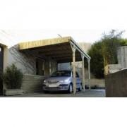 Jardipolys Carport en bois Mezzo 9 - 5 x 3 m
