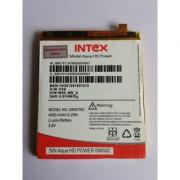 Intex Aqua Power Power HD Original Li Ion Polymer Internal Replacement Battery BR4076C 4000mAh