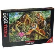 Anatolian Temple Tigers Jigsaw Puzzle (1000 Piece)