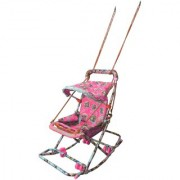 suraj baby pink color 6 in 1 swing(jhula) for your kids se-sj-21