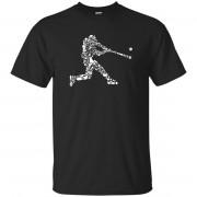 8 - RTP - Caffein Art - Baseball Player Doodle Art - Adult Unisex T-Shirt