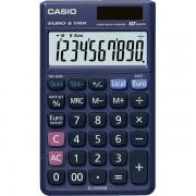 Calcolatrice tascabile Casio SL-310TER+ - 229165 Calcolatrice a 10 cifre di dimensioni 70 X 118 X 8 mm dal peso di 50 gr con alimentazione solare/batteria di colore blu in confezione da 1 Pz.