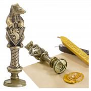Noble Collection Sello de Lacre Hufflepuff - Harry Potter