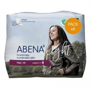 Abena Light Protection urinaire femme - Abena Light Maxi - N°4A - Pack de 6 sachets