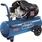 Compresor cu doi cilindri HC53DC Scheppach SCH5906102901, 2200 W, 50L, 10 bari