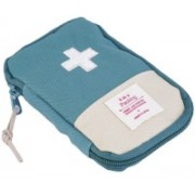 ClickUS Mini Small First Aid Kit Travel Pouch Medicine Storage Bag(Blue)