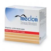 Alfasigma Spa Meclon 200 Mg/10 Ml + 1 G/130 Ml Soluzione Vaginale 5 Flaconi 10 Ml + 5 Flaconi 130 Ml + 5 Cannule