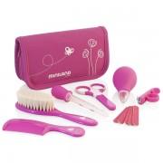 Set igiena pentru copii Miniland Baby Kit pink