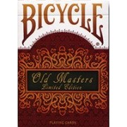 Carti de joc Bicycle Old Masters Numbered Limited Edition