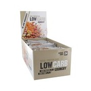 Total low carb barra de proteína sabor caramelo e amendoim 10x40g - Gold Nutrition