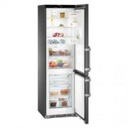 GARANTIE 4 ANI Combina frigorifica Liebherr, Comfort, clasa A+++, BluePerformance, NoFrost, inox negru CNbs 4835