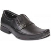 TEN Simple and Elegant Monk Strap Shoes For Men(Black)