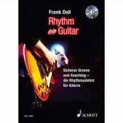 Schott Music Rhythm On Guitar Frank Doll