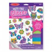 Melissa & Doug Kreatív játék, Glitter pufi matrica készítő, barátság