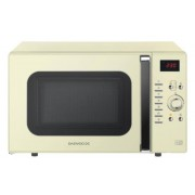 Daewoo KOC9Q3TC 28L 5 Programs Combination Microwave Oven 900W with Timer- Cream