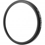 ER 58mm UV Haze Ultra-Violet Cámara DSLR Metal Cristal Protector De Filtro De La Lente -Transparente Y Negro