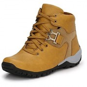 SofiyaFashions Men's Boots For Occasions Party Casual Comfort Shoes Tan