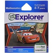 LeapFrog Learning Game Disney-Pixar Cars 2 (works with LeapPad Tablets Leapster GS and Leapster Explorer)